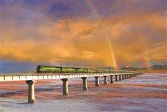 坐着火车去拉萨 彩虹伴我阅美景
